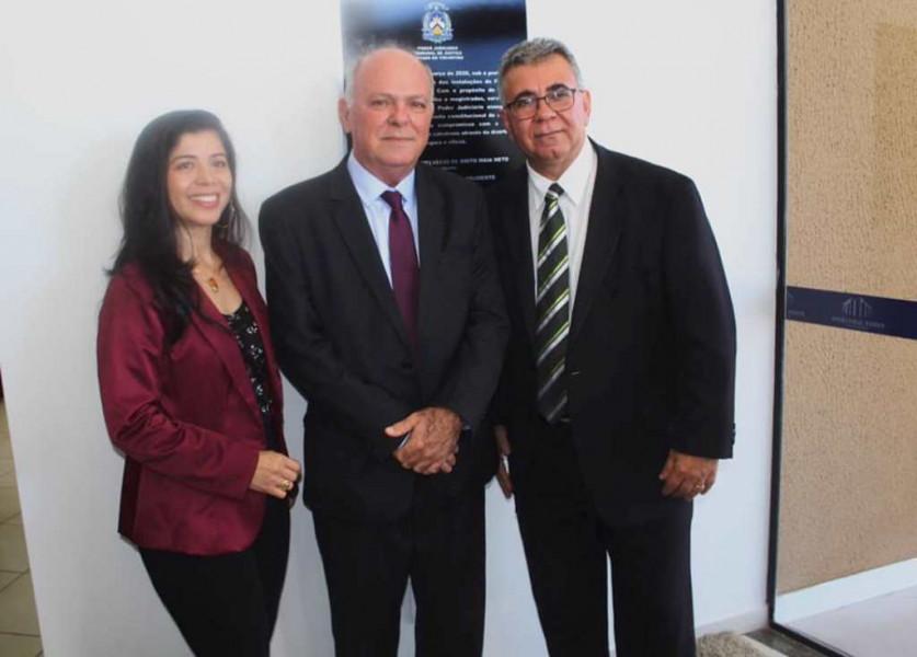 Dia 13 de Março de 2020. Reforma do prédio da Comarca do Fórum de Figueirópolis-TO.