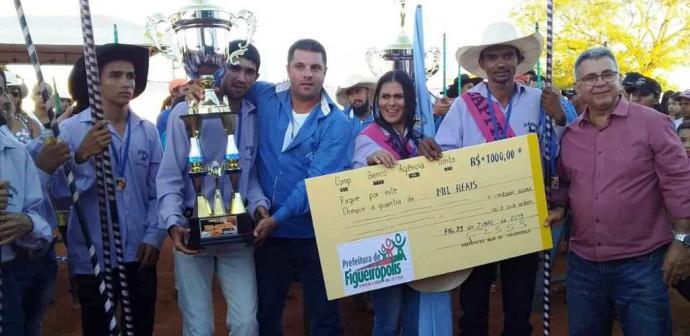 A Prefeitura Municipal de Figueirópolis,e a Sec. Municipal de Esportes realizaram competição de  Corrida de Argolas.